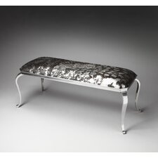 <strong>Butler</strong> Loft Fallon Hair-On-Hide Entryway Bench