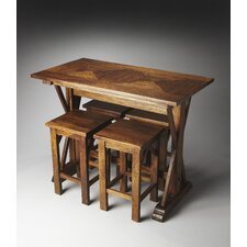 Mountain Lodge Hubbard Pub Table Set