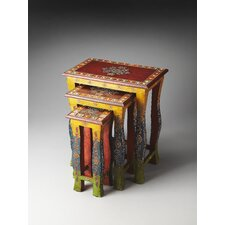 Artifacts Sasha 3 Piece Nesting Tables