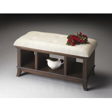Loft Solid Hardwood Storage Bench