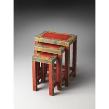<strong>Butler</strong> Artifacts Rana 3 Piece Nesting Tables