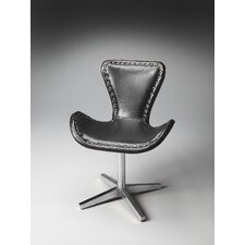 Loft Midway Aviator Leather Swivel Chair