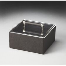 Hors D'oeuvres Lido Leather Storage Box