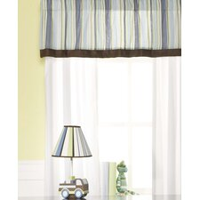 Mosaic Transport Curtain Valance