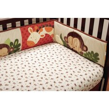 <strong>Kids Line</strong> Jungle 123 Fitted Sheet