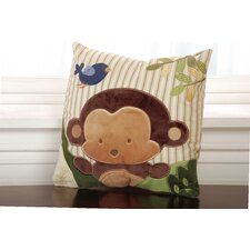 Jungle 123 Throw Pillow