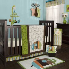 Elephants Crib Bedding Collection