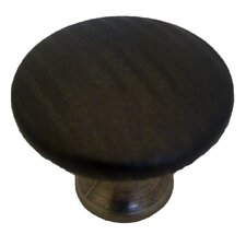 Covered Round Knob