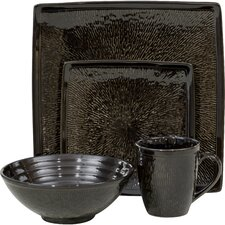 <strong>Sango</strong> Galaxy 16 Piece Dinnerware Set