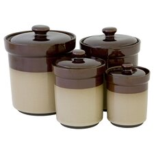 4 Piece Nova Canister Set