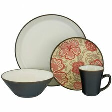 <strong>Sango</strong> Signature Passion 16 Piece Dinnerware Set