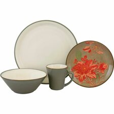 <strong>Sango</strong> Signature Trumpet 16 Piece Dinnerware Set