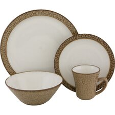 <strong>Sango</strong> Facets 16 Piece Dinnerware Set