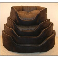 Soft Suede Dog Bed