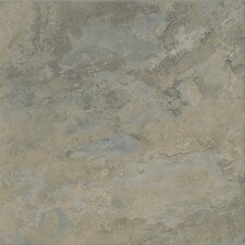 "Tundra 18"" x 18"" Glazed Porcelain Field Tile in Ocean"
