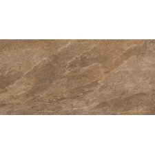 "W-Slate 12"" x 6"" Cove Base Tile Trim in Dark"