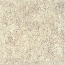 "Copper Ridge 18"" x 18"" Glazed Porcelain Field Tile in Cascade White"