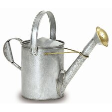Galvanized 1.5-Gallon Short Necked Watering Can
