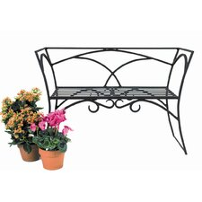 Arbor Wrought Iron Garden Bench