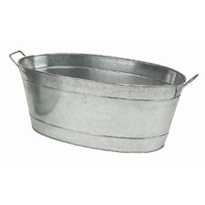 Large Oval Tub Planter
