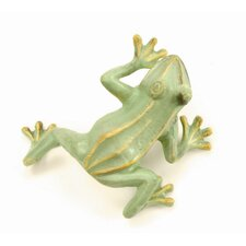 Jumping Frog Statue