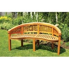 Monet Wood Garden Bench