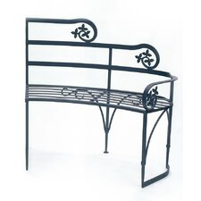 Lutyen II Wrought Iron Garden Bench