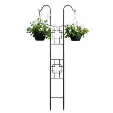 Square-on-Squares Double Pole Trellis