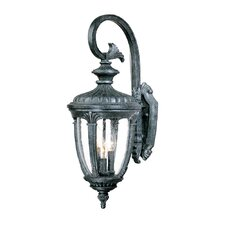 Monte Carlo 3 Light Wall Lantern
