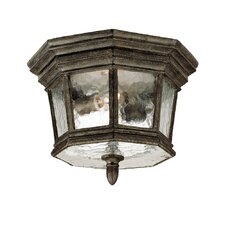 Barrington 2 Light Flush Mount