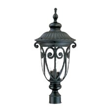 Naples 3 Light Outdoor Post Lantern