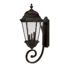 <strong>Acclaim Lighting</strong> Telfair 3 Light Wall Lantern