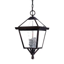 Charleston 3 Light Outdoor Hanging Lantern