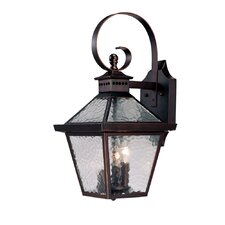 <strong>Acclaim Lighting</strong> Bay Street 3 Light Wall Lantern