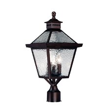 Bay Street 3 Light Outdoor Post Lantern