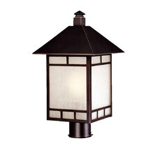 Artisan 1 Light Outdoor Post Lantern