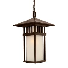 Bali 1 Light Outdoor Hanging Lantern