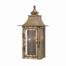 St. Charles 2 Light Outdoor Wall Lantern
