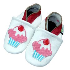 <strong>Augusta Baby</strong> Cupcake Soft Sole Leather Baby Shoes
