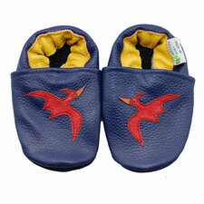 Pteradactyl Soft Sole Leather Baby Shoes