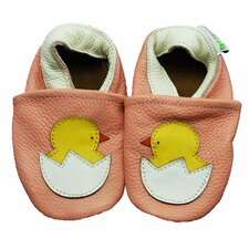 Chick Soft Sole Leather Baby Shoes