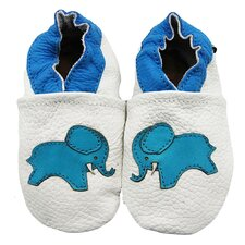 Elephant Soft Sole Leather Baby Shoes
