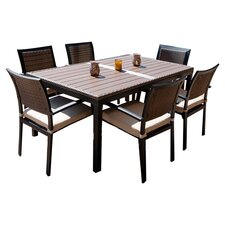 Zen 7 Piece Dining Set
