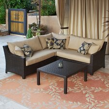 Deco 2 Piece Sectional Sofa Set