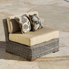 Resort Modular Deep Seating Armless Chair