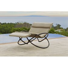 Delano Double Chaise Lounge with Cushion