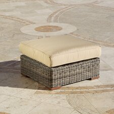 Resort Oversized Ottoman with Cushion