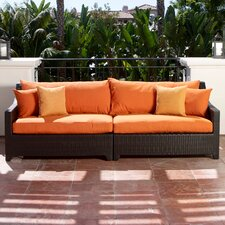 Tikka Deco Patio Sofa with Cushions