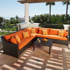<strong>RST Outdoor</strong> Tikka 6 Piece Deep Seating Group with Cushions