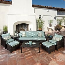 <strong>RST Outdoor</strong> Bliss 8 Piece Deep Seating Group with Cushions